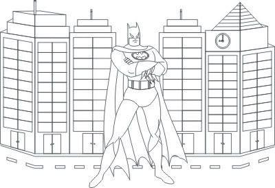 Desenho Para Colorir Do Batman Desenhos E Riscos