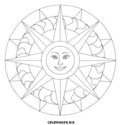 Desenho on Desenhos Para Colorir E Imprimir   Mandalas  Gr  Tis