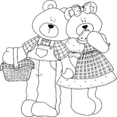 Casal de ursinhos