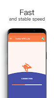 screenshot of Turbo VPN Lite - Free VPN Proxy Server & Fast VPN