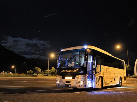 西日本JRバス「高知エクスプレス」 グランドリーム車 2179 吉野川SAにて_05