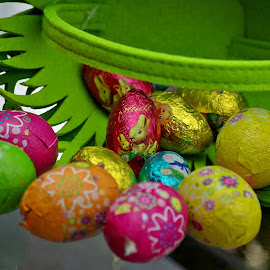 Eggs all around VI by Ciprian Apetrei - Public Holidays Easter ( eggs · easter · still life · decorations )