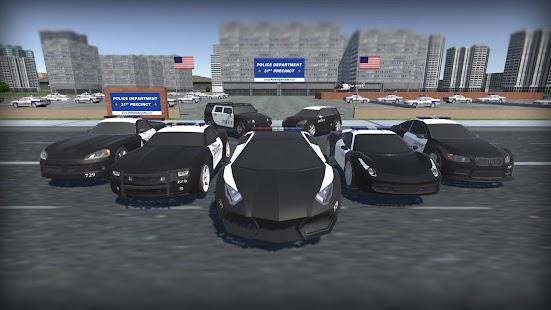3D Police Car Simulator 2016 screenshot