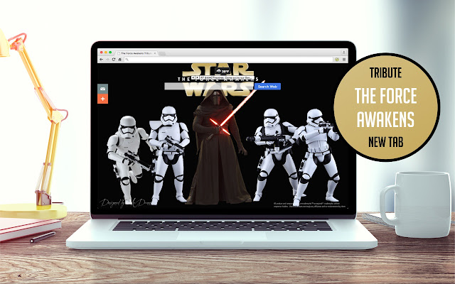 The Force Awakens Tribute New Tab