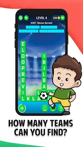 Football Team Names - Guess Soccer Logos Quiz android2mod screenshots 3
