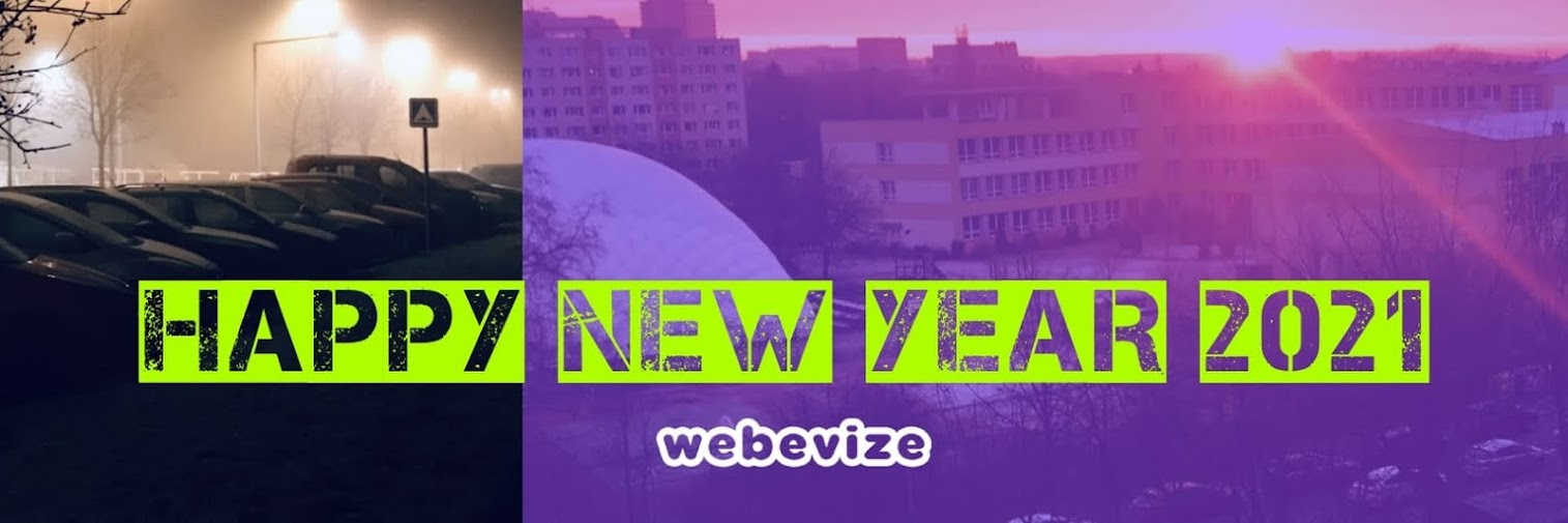 WEBEVIZE | HAPPY NEW YEAR 2021!