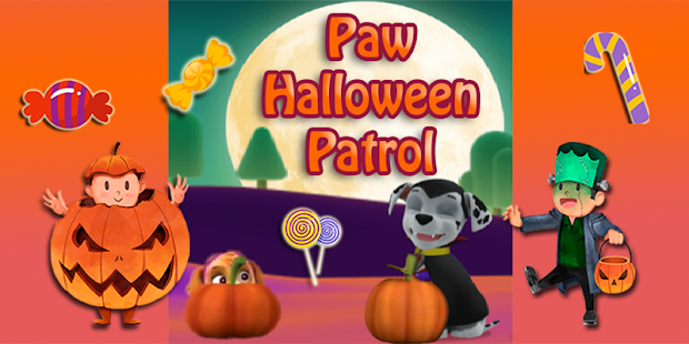 Paw Puppy Patrol and Adventure Halloween Friends - náhled