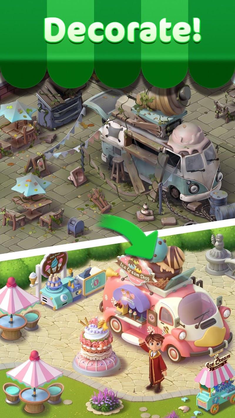 Jellipop Match: Open your dream shop! Screenshot 0