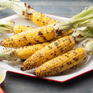 Iowa Grilled Sweet Corn on the Cob