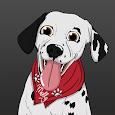 MollyMoji - Dalmatian dog emojis & stickers