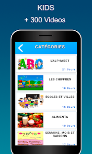 Videos French for Kids & Adults free- screenshot thumbnail