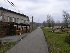 """Photo: Cyklotrasa č. 59 mezi Vratimovem a Paskovem, hospůdka """"Občerstvení na stezce"""""""