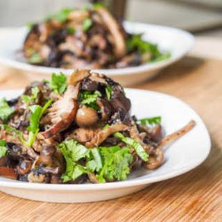 Vegan Mushroom Stir Fry {Gluten-Free}.