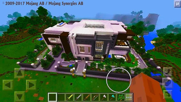 Download Modern House MCPE Map APK latest version app for android