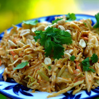 Spicy Thai Peanut Slaw