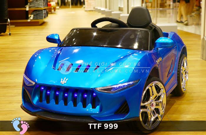 Ô tô điện đồ chơi trẻ em cao cấp TTF-999 12