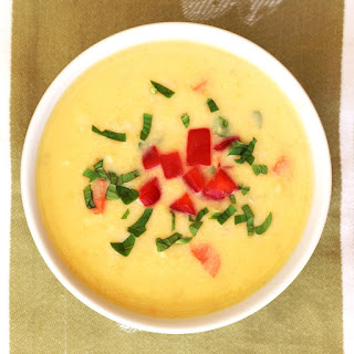 Creamy Dairy-Free Corn Soup