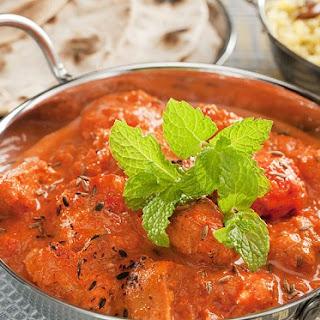 Indian Creamy Masala Chicken.