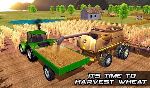 Farming sim 2018 - Tractor driving simulator apkdebit screenshots 11