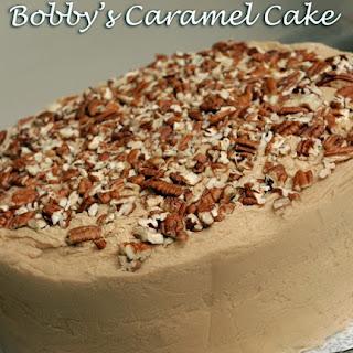 Bobby's Caramel Cake - Paula Deen.