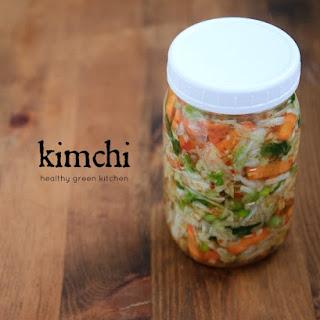 Recipe for Kimchi.