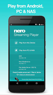 Nero Streaming Player | Connect phone to Smart TV تنزيل ملف Apk