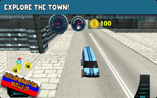 Russian Minibus Sim:Gazelle 3D