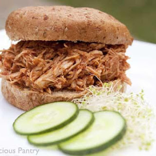 Clean Eating Slow Cooker Pulled Pork Sandwiches.