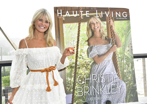 Christie Brinkley Celebrates With Haute Living In The Hamptons