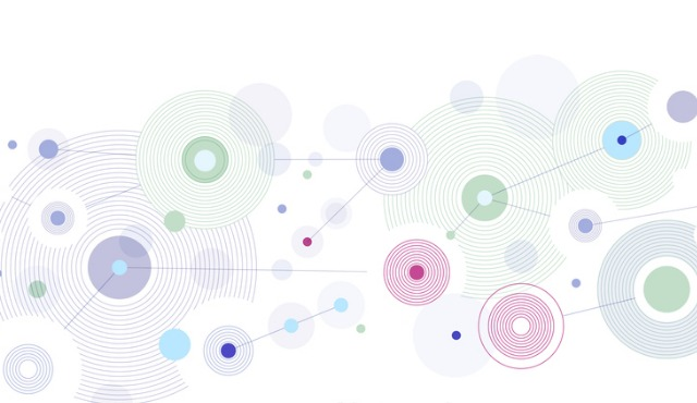 graphic of global network of connections