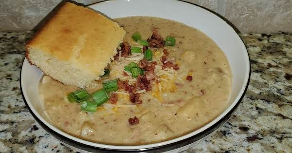 Bacon Cheddar Cheese  Soup