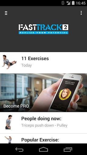 FastTrack2 Fitness App
