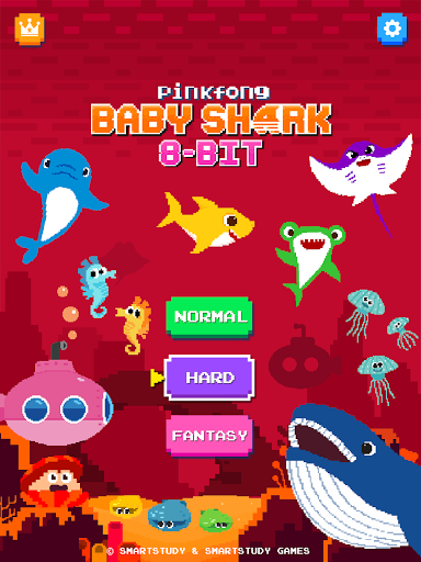 Baby Shark 8BIT : Finding Friends 1.0 screenshots 23