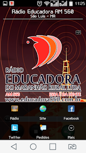 Rádio Educadora AM 560: miniatura da captura de tela