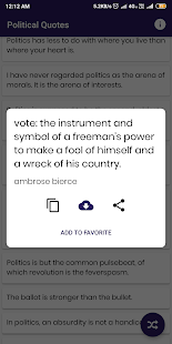 Download Political Quotes and Sayings For PC Windows and Mac apk screenshot 4