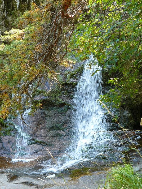 В Каньона на водопадите