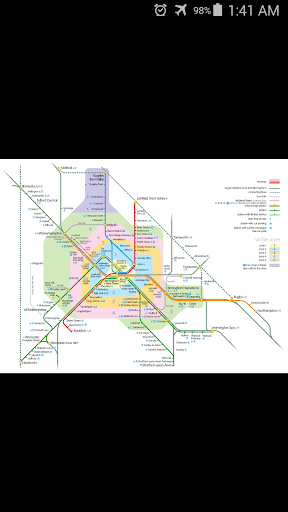 Birmingham Rail Map