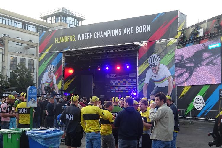 📷 🎥 Antwerpen en Leuven de WK-steden in de schijnwerpers: de taferelen aan de start, in de fanzones en meer!