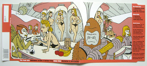 Photo: CD cover illustration for Seksuroba.