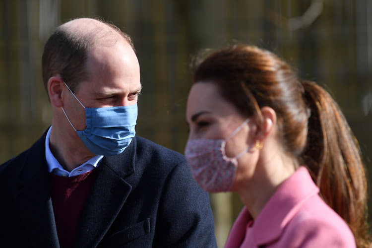 Prince William, Duke of Cambridge and Catherine, Duchess of Cambridge visit School 21 in Stratford on March 11, 2021 in London, England.