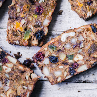 Paleo Fruit and Nut Breakfast Bread.