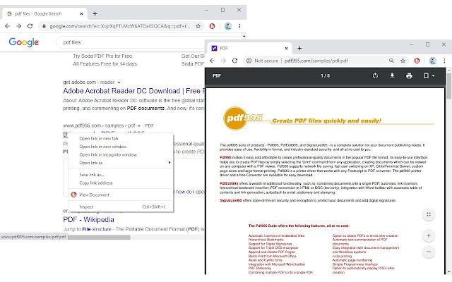 Open in PDF Viewer