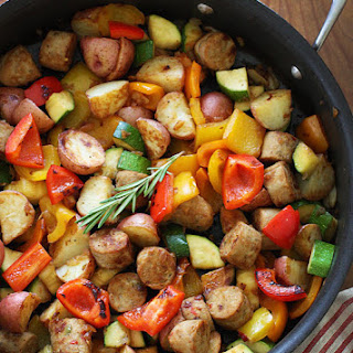 Summer Vegetables with Sausage Recipe