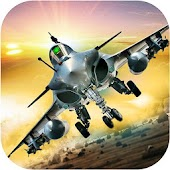 Angry Flying forte Jet  War 3D