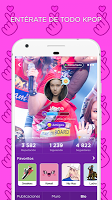 screenshot of K-Pop Amino en Español