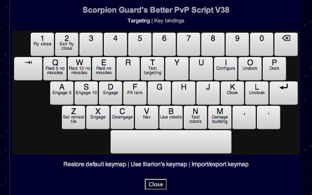 Scorpion Guard's Better PvP Pardus Extension