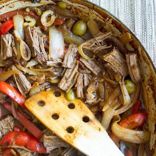 Ropa Vieja {Cuban Braised Shredded Beef}
