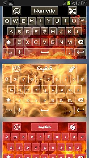 Fire Flame Keyboard