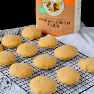 Whole Wheat Biscuits with Almond Milk