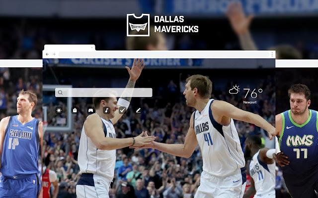 Dallas Mavericks HD Wallpapers New Tab